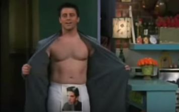The outtakes of Joey Tribbiani's gag reel from Friends will crack you up