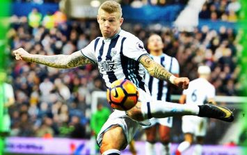 Celtic supporters giddied by the sight of James McClean in a Celtic shirt