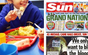 The Sun's stance on free school dinners shows utter contempt for their readers