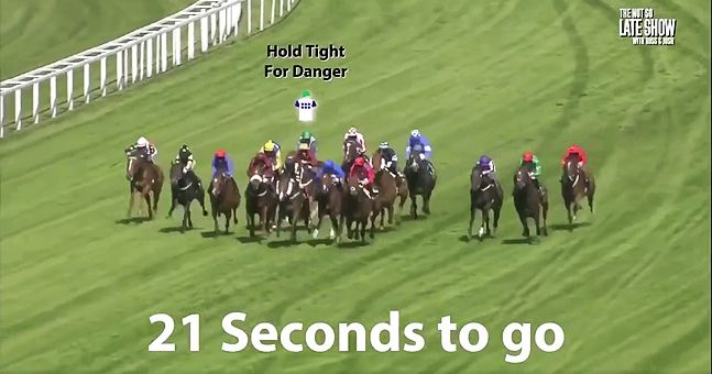 WATCH: Horse racing with UK garage commentary is actual genius