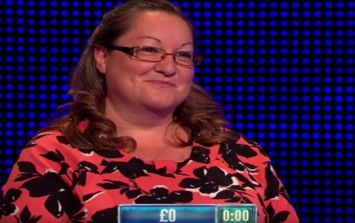 This lady had an absolutely awful round on The Chase