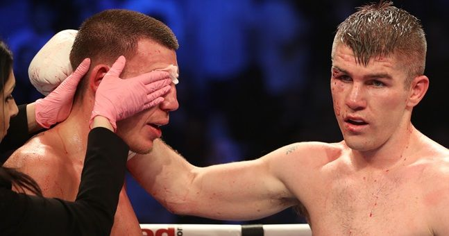 No shortage of controversy as Liam Smith gets his hand raised in Manchester