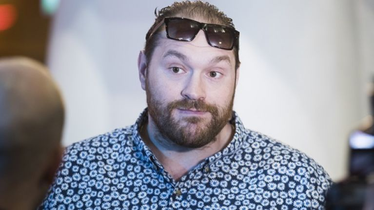 "Tyson Fury verbally accepts comeback bout - ""When I'm back I'll fight you first!"""