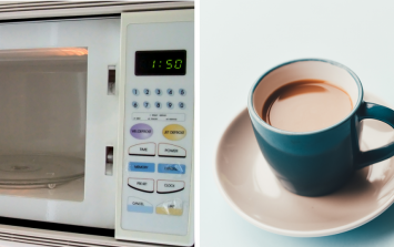 A study suggested that using a microwave makes better tea and people are not having it