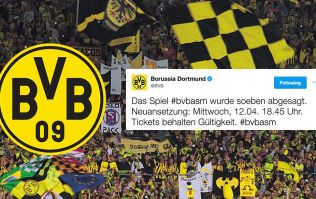 Borussia Dortmund match postponed following bus 'explosion' incident