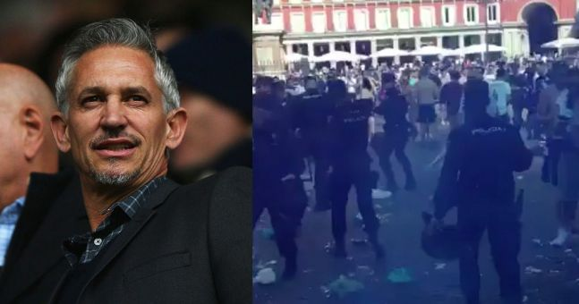 Gary Lineker slams behaviour of minority of Leicester fans in Madrid