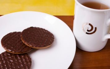 Turns out we've been eating some McVitie's biscuits ALL wrong