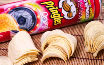 Turns out we're been eating Pringles the wrong way all this time
