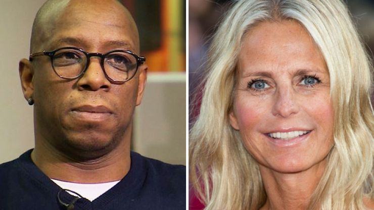 Ian Wright brings up Ulrika Jonsson in ugly Twitter spat with Stan Collymore