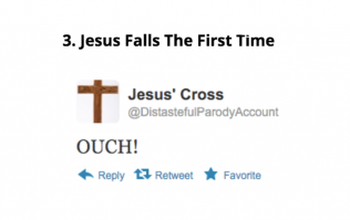 If The Stations Of The Cross were live tweeted, this is how it probably would've gone down