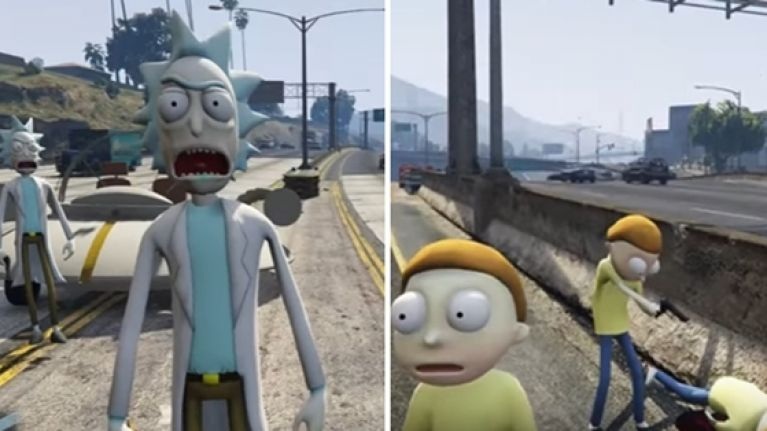 This absolutely incredible version of GTA V lets you play as