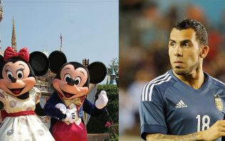 Carlos Tevez pisses off Shanghai Shenhua fans by going to Disneyworld