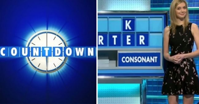Rachel Riley couldn't help but laugh at this risque Countdown puzzle