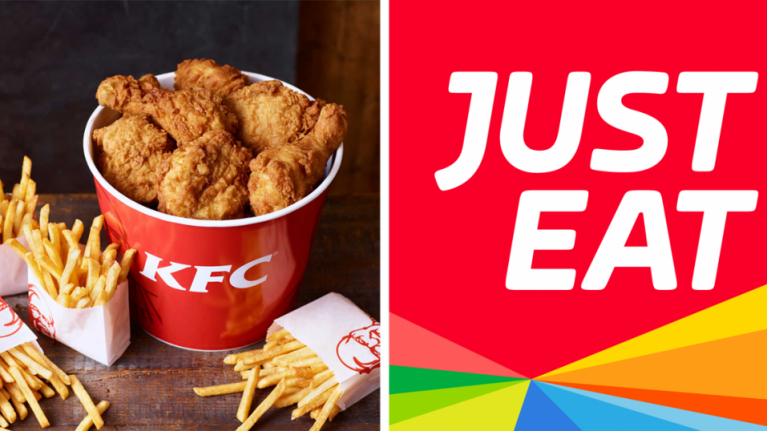 Rejoice! For KFC is now available for delivery from Just Eat