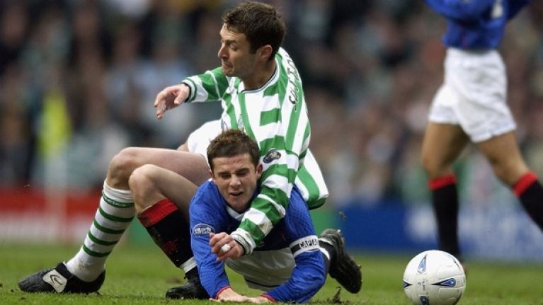 Chris Sutton's attempt at trolling Rangers supporter could definitely have gone better