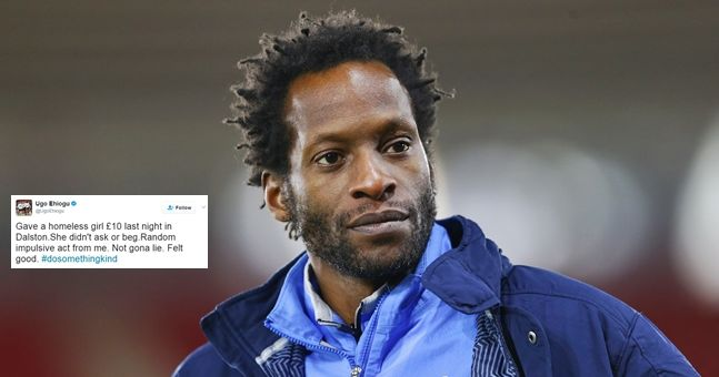 Ugo Ehiogu's last tweet sums up what a good guy he was