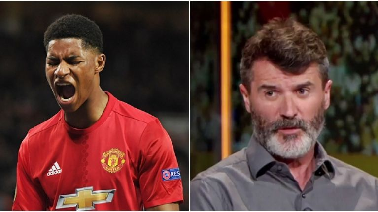 Roy Keane identifies the part of Marcus Rashford's game he needs to improve