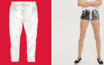 Topshop have brought out completely see-through jeans because... fashion?
