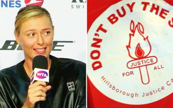 WATCH: People are loving Maria Sharapova's disgusted reaction to the Sun asking her a question