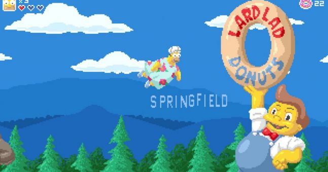 Someone turned one of the best Simpsons episodes into a 16 bit game
