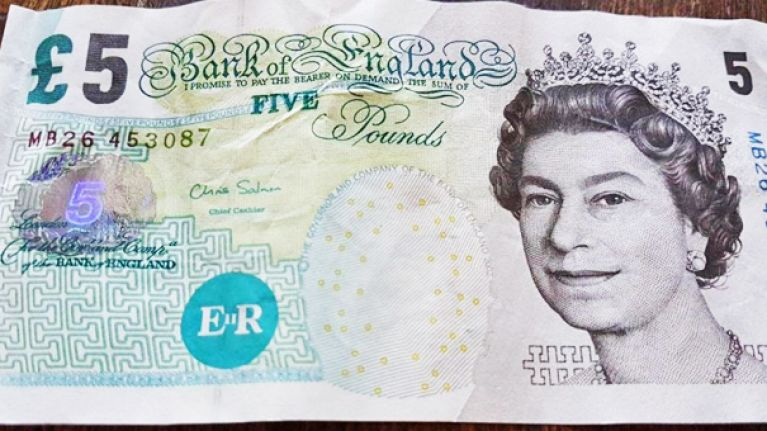 Friday is the very last day you can use your old £5 notes in shops and bars