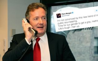 Why we need to leave the phrase 'Man Up' in the bin along with Piers Morgan