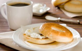 Someone has combined bagels with coffee and we're just not sure about it
