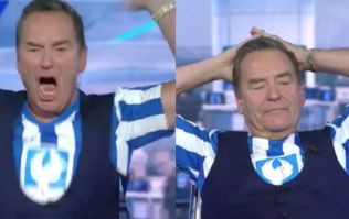 Watch as Jeff Stelling reacts to the heartbreaking late goal that sent his beloved Hartlepool down