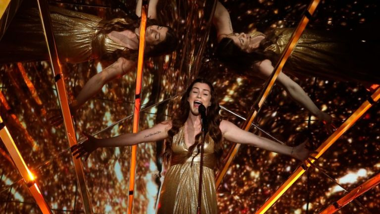 Lucie Jones' cheeky Eurovision dig at Ireland gets plenty of equally cheeky responses
