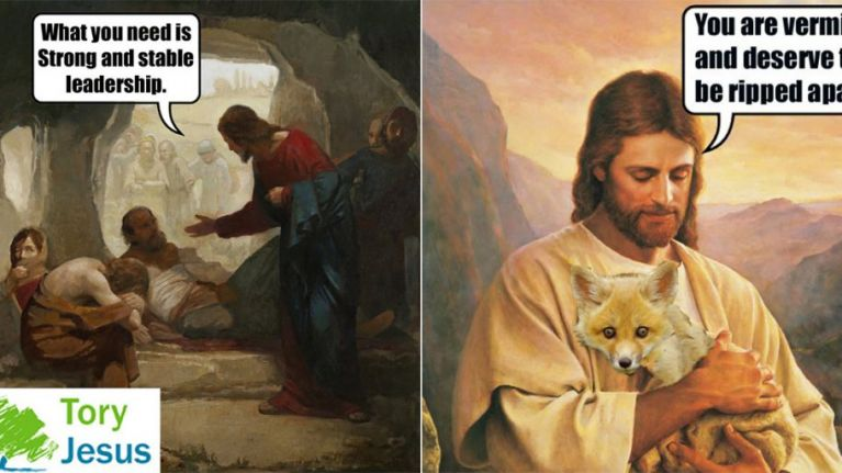 'Tory Jesus' is the funniest social media account of the ...