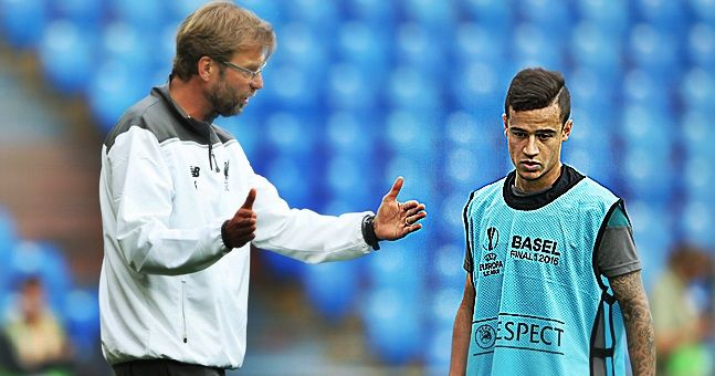 How Jurgen Klopp plans to alter Philippe Coutinho's role in Liverpool's starting XI for next season