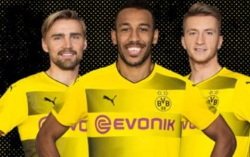 Borussia Dortmund accused of stealing new home kit design