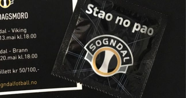A Norwegian football club has just launched the strangest branded product in history