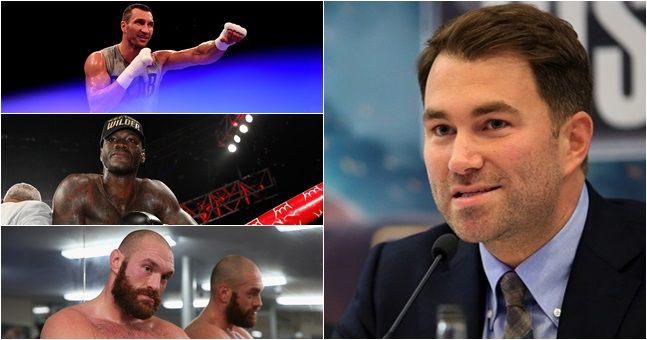 Anthony Joshua's next three fights revealed by Eddie Hearn