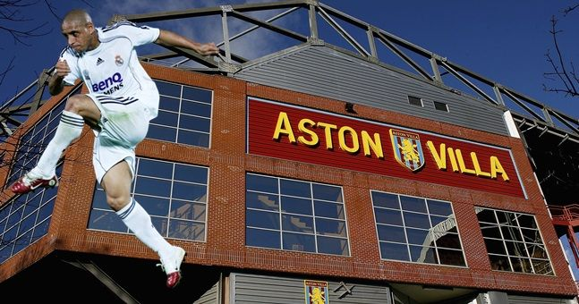 A handful of fans actually believe Roberto Carlos has signed for Aston Villa