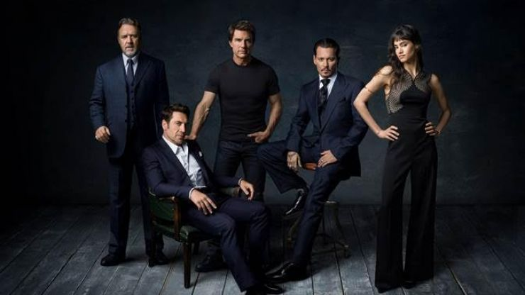 Johnny Depp and Javier Bardem join Tom Cruise as part of Universal's monster-centric Dark Universe