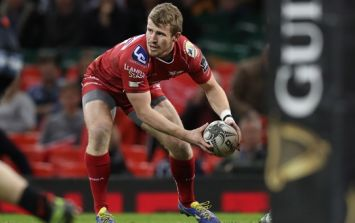Scarlets star had to choose between his own stag and the PRO12 final... heartbreaking