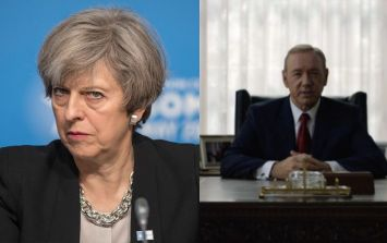 Theresa May mocked by House of Cards Twitter account for missing BBC Election Debate