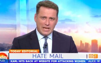 "Australian TV host attacks Daily Mail for publishing ""cheap, lazy, sexist online slur"""