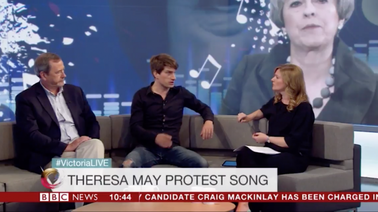 """WATCH: Jake Painter says the BBC asked him """"not to go too heavy on Tories"""""""