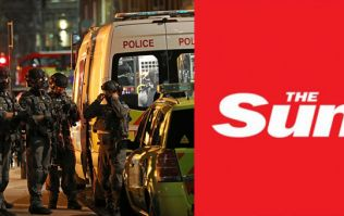The Sun criticised by Arsenal fans for their front page headline following London terror attack