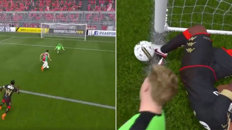 WATCH: This unbelievable non-goal in FIFA 17 is what smashed controllers are made of