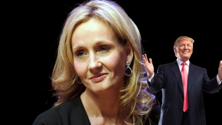 J.K. Rowling has a novel idea about how to protest Donald Trump's state visit to Britain