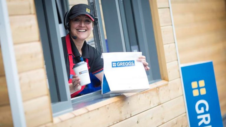 Greggs have launched their very first drive-thru and people are freaking out