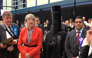 Never mind Theresa May, Lord Buckethead was the real winner at Maidenhead
