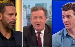 Rio Ferdinand wants Piers Morgan to be Prime Minister, Joey Barton isn't having it