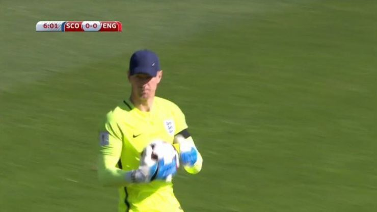 Here are the best jokes about Joe Hart wearing a baseball cap against Scotland