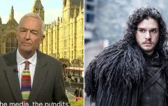 WATCH: Guess what Game of Thrones joke Jon Snow made about the General Election result