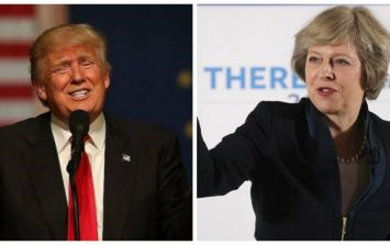Donald Trump reportedly told Theresa May his UK visit is cancelled until the British people support him better