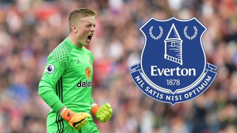 Everton agree massive fee for Jordan Pickford